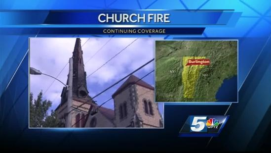 College Street church comes together after fire