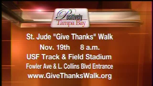 Positively Tampa Bay: Give Thanks Walk at USF