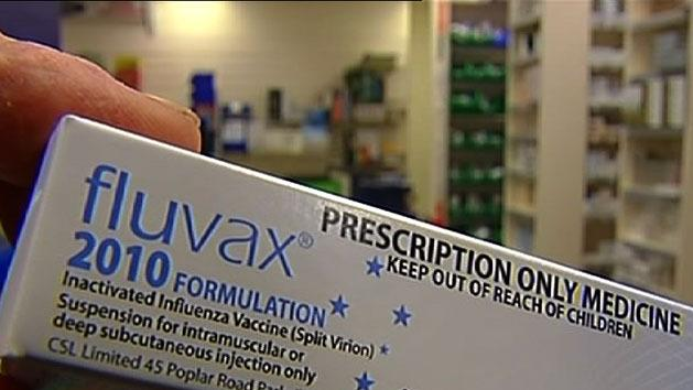 'Banned flu vaccine being used'