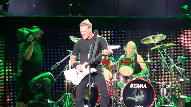 Metallica returns to Singapore after 20 years