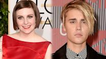 "Lena Dunham DISSES Justin Bieber's New Song ""What Do You Mean?"""