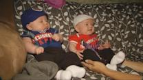 Infant Twins Might Be the Chicago Cubs' Littlest Fans