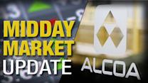 Midday Report: Alcoa Jumps on Elliott Stake; Home Sales Drop