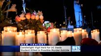 Vigil Held For UC Davis Student Found Dead With Roommate
