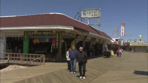 Part of NJ boardwalk reopens in Seaside Heights