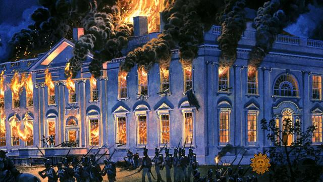 When the British burned the White House