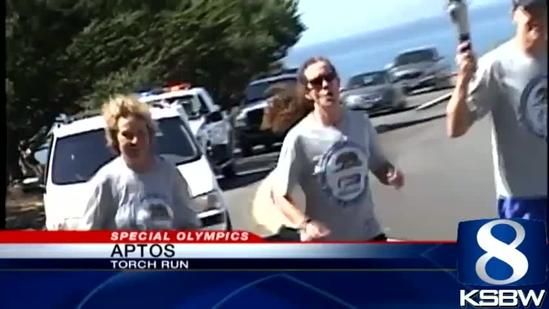 Special Olympics Torch Run Through Santa Cruz County