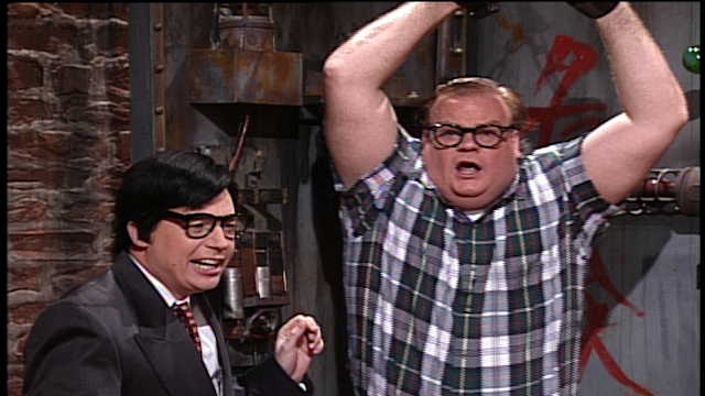 Chris Farley, Giapponese
