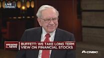 Buffett on currencies, rates and financials