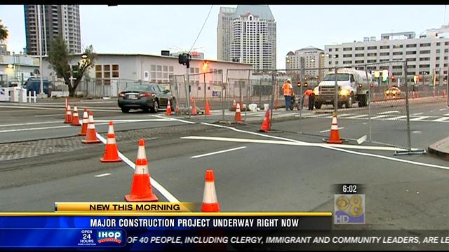 Construction begins on waterfront promenade project