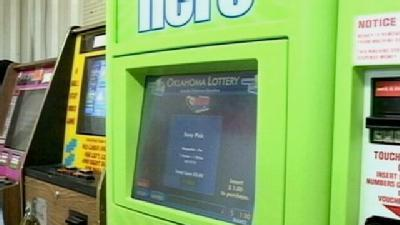 Lottery Vending Machines Installed