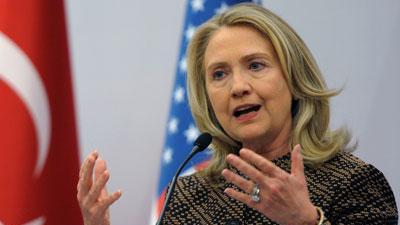 Clinton condemns latest violence in Syria