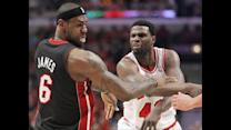 Bulls Center Talks Shoving Lebron James