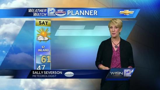 Watch Sally Severson's Forecast