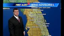 Sunday Outlook: Wind Advisory; Storms Move Through Midday