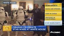 CNBC update: 'Star Wars' party at the White House