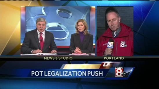 Proponents of legalizing marijuana take effort to Maine State House