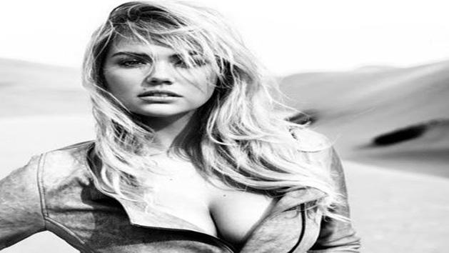 Kate Upton Flaunts Her Cleavage In A Racy Photoshoot