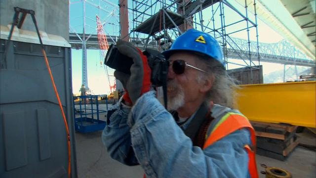 Photographer captures the men creating the Bay Bridge