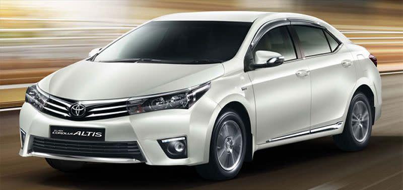 Toyota Corolla Altis為3月份銷售量最好的車,總共賣出2,619台,自家的Toyota RAV4以1,539台緊追在後