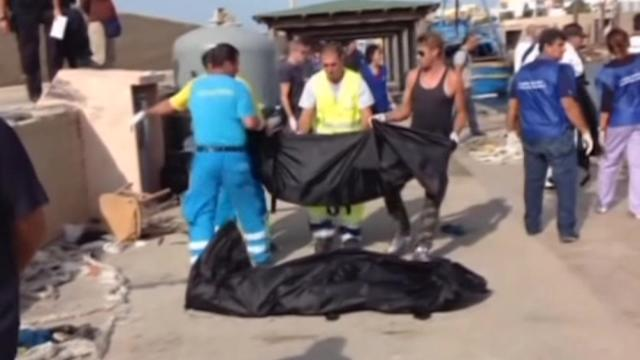 Boat capsizes near Italy, leaving scores of migrants dead or missing
