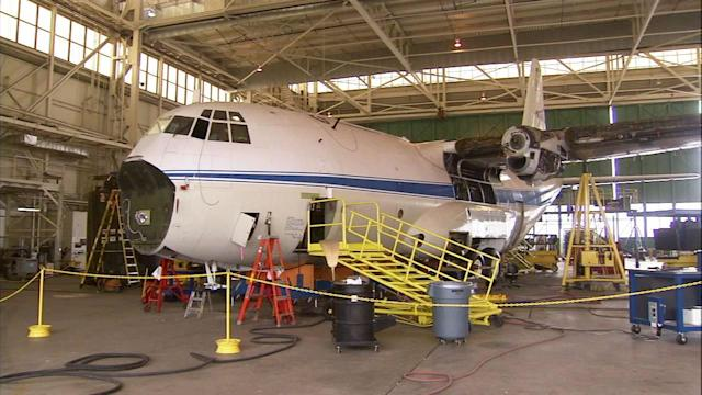 Forest Service resurrects firefighting air-tanker from museum
