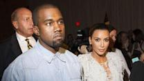 Kardashian and West hit Marchesa fashion show