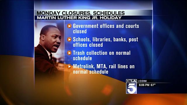 Organizers Prepare for Annual Martin Luther King Day Parade