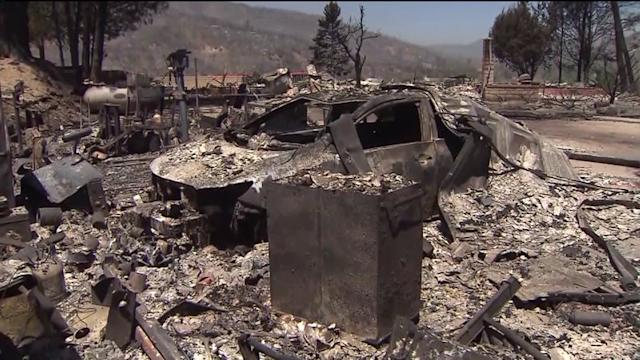 Homeowners Dig Through What`s Left After Powerhouse Fire