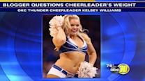 Sports blogger criticized for calling cheerleader chunky
