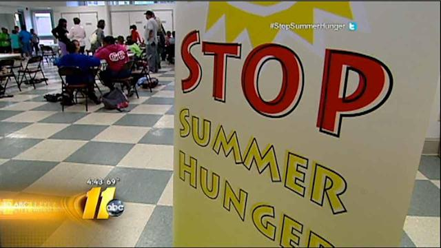 ABC11, food bank work to 'Stop Summer Hunger'