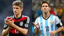 Germany, Argentina set for World Cup final