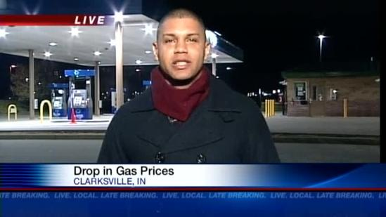 Some gas prices drop in time for holiday travel