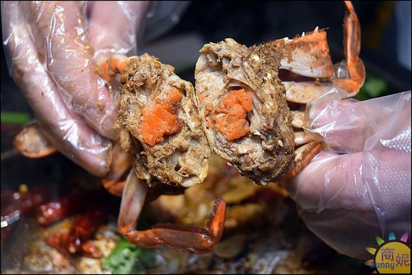水貨螃蟹烤魚11