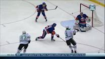 Jamie Benn forces turnover and goes top-shelf