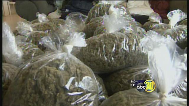 Merced County marijuana grow lands man in jail
