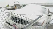 Winter Snowstorm Pounding Midwest