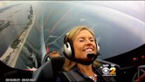 Meg Baker Takes To The Air Ahead Of Bethpage Air Show