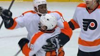 Flyers and Caps clash Wednesday