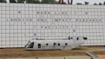 NASA Crashes 45-Foot Polka-Dotted Helicopter to Test Safety