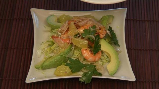 How To Prepare Prawn And Avocado Salad