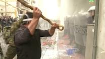 Greek police fire tear gas at angry farmers rallying in Athens