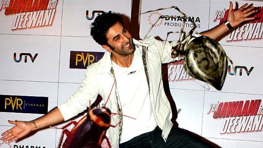 Ranbir is scared of Spiders & Cockroaches: Deepika