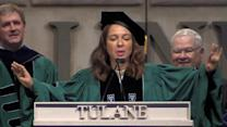 Maya Rudolph Channels Beyonce in Commencement Speech