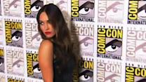 Fox Dons 'Bondage Strap' Skirt at Comic-Con
