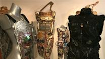 NYC Artist Creates Wearable Armor Sculpture