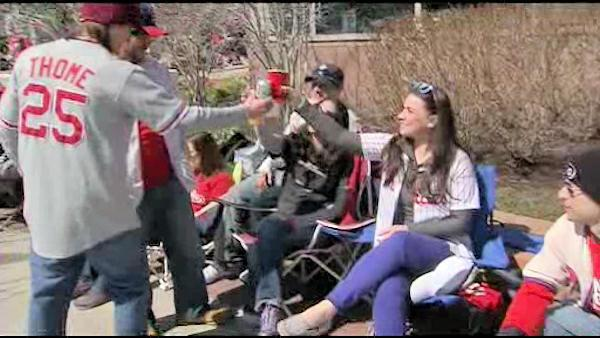Phillies fans gear up for home opener