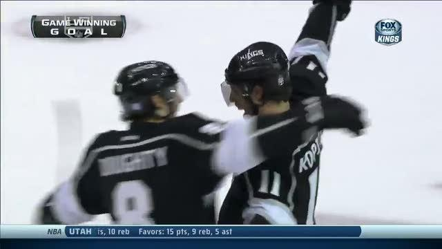 Anze Kopitar wins it in OT