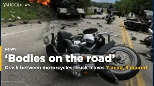 We All Feel It Bikers Mourn 7 Of Their Own Killed On Road