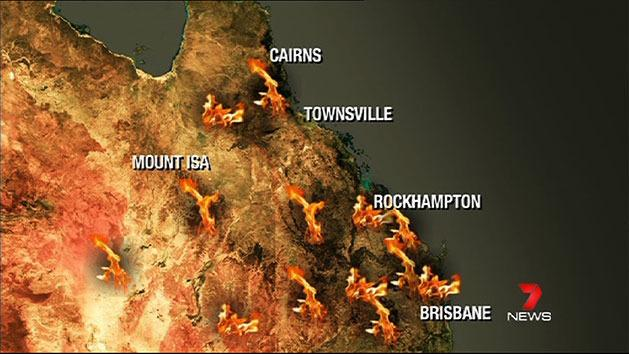 Queensland braces for heat